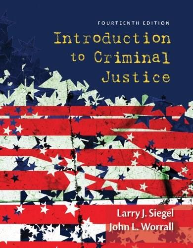 Introduction to Criminal Justice 14 9781285069012