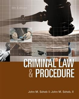 Criminal Law and Procedure 8 9781285070117