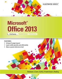 Microsoft Office 2013: Illustrated Introductory, 1st Course, by Beskeen 9781285088457