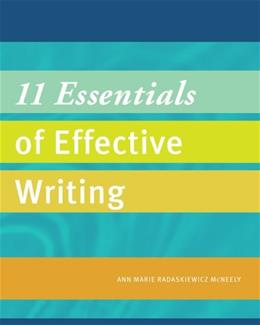 11 Essentials of Effective Writing, by McNeely 9781285092751