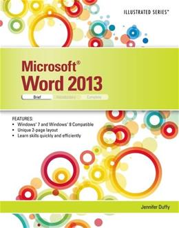 Microsoft Word 2013: Illustrated, by Duffy, Brief 9781285093130