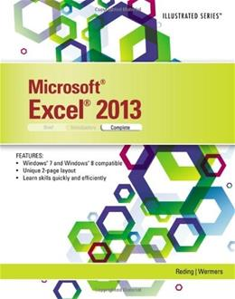 Microsoft Excel 2013: Illustrated Complete 9781285093192