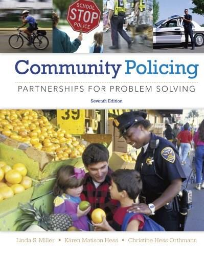 Community Policing: Partnerships for Problem Solving 7 9781285096674