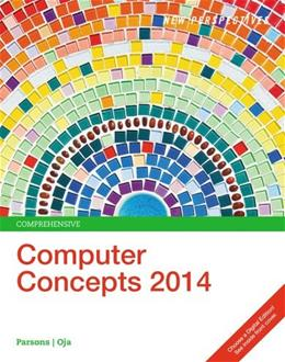 New Perspectives on Computer Concepts 2014: Comprehensive 16 9781285096926