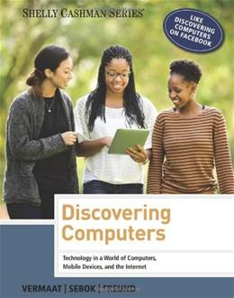 Discovering Computers 2014, by Vermaat 9781285161761