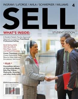 SELL4 (with CourseMate Printed Access Card) (New, Engaging Titles from 4LTR Press) 4 PKG 9781285164724