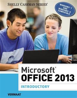 Microsoft Office 2013: Introductory, by Vermaat 9781285166025