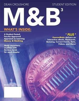 M and B3, by Croushore, 3rd Edition 3 PKG 9781285167961