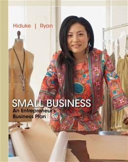 Small Business: An Entrepreneurs Business Plan 9 9781285169958
