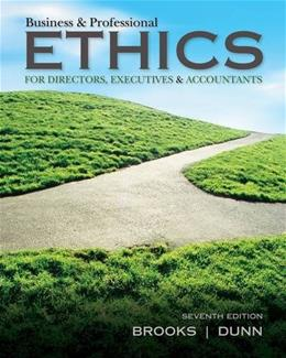 Business & Professional Ethics 7 9781285182223