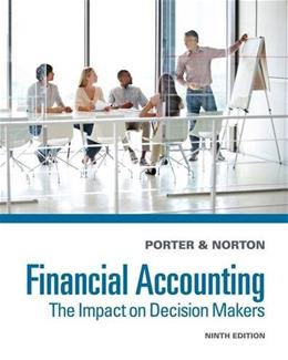 Financial Accounting: The Impact on Decision Makers 9 9781285182957