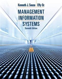 Management Information Systems 7 9781285186139