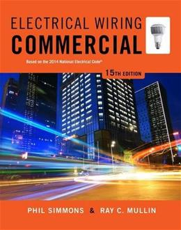 Electrical Wiring Commercial, by Simmons 15 PKG 9781285186856