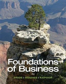 Foundations of Business - Standalone book 4 9781285193946