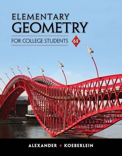 Elementary Geometry for College Students 6 9781285195698