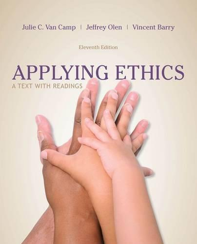 Applying Ethics: A Text with Readings 11 9781285196770