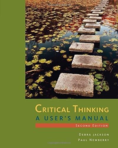 Critical Thinking: A Users Manual 2 9781285196848