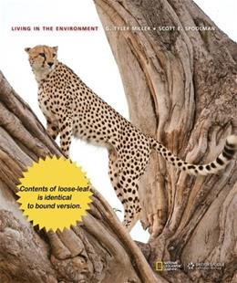 Living in the Environment, by Miller, 18th Edition 9781285197210