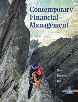 Contemporary Financial Management (with Thomson ONE - Business School Edition 6-Month Printed Access Card) 13 PKG 9781285198842
