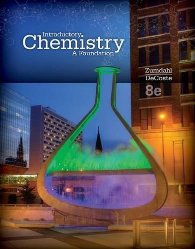 Introductory Chemistry: A Foundation 8 9781285199030