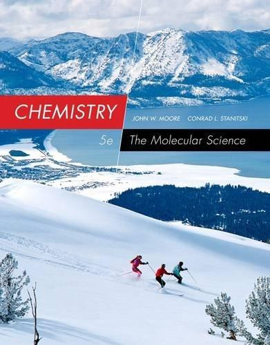 Chemistry: The Molecular Science 5 9781285199047