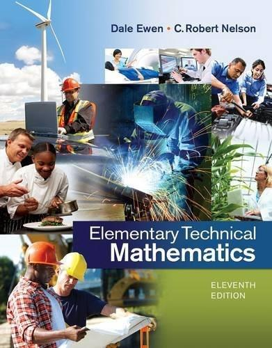 Elementary Technical Mathematics 11 9781285199191