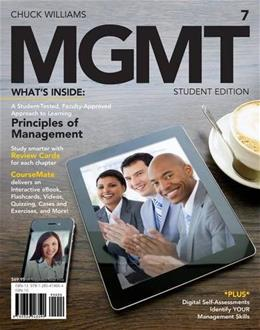 MGMT7, by Williams, 7th Edition 7 PKG 9781285419664