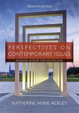 Perspectives on Contemporary Issues: Reading Across the Disciplines, 7th Edition 9781285425849