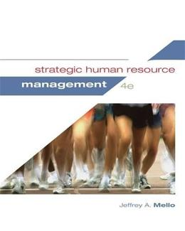 Strategic Human Resource Management 4 9781285426792