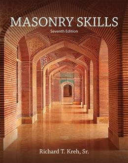 Masonry Skills, by Kreh, 7th Edition 9781285426839