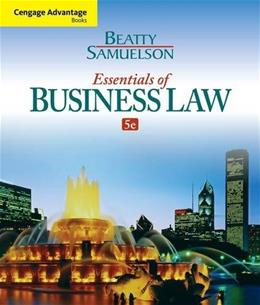 Cengage Advantage Books: Essentials of Business Law 5 9781285427003
