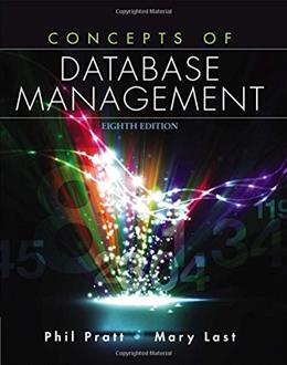 Concepts of Database Management 8 9781285427102