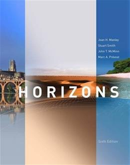 Horizons, by Manley, 6th Edition 6 PKG 9781285428284