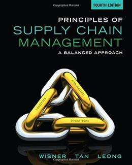 Principles of Supply Chain Management: A Balanced Approach 4 9781285428314