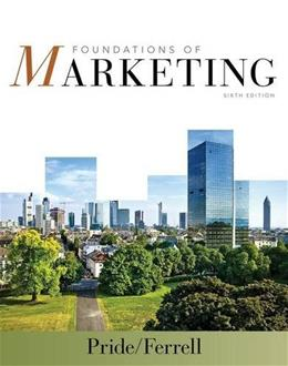 Foundations of Marketing 6 9781285429779