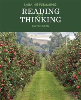 Reading for Thinking (The Flemming Reading Series) 8 9781285430461