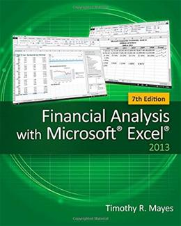 Financial Analysis with Microsoft Excel 7 9781285432274