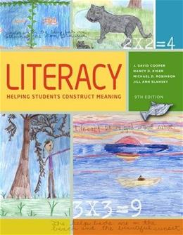 Literacy: Helping Students Construct Meaning 9 9781285432427