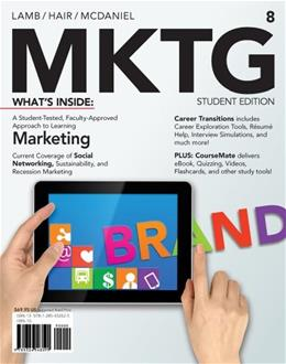 MKTG 8 (with CourseMate Printed Access Card) (New, Engaging Titles from 4LTR Press) 8 PKG 9781285432625
