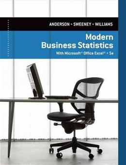 Modern Business Statistics with Microsoft Excel 5 9781285433301