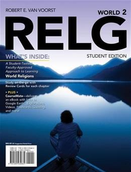 RELG: World (with CourseMate Printed Access Card) (New, Engaging Titles from 4LTR Press) 2 PKG 9781285434681