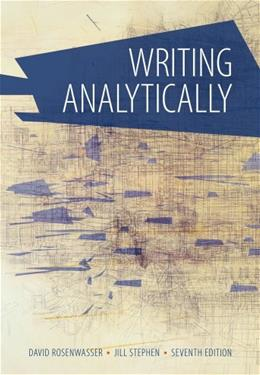 Writing Analytically 7 9781285436500
