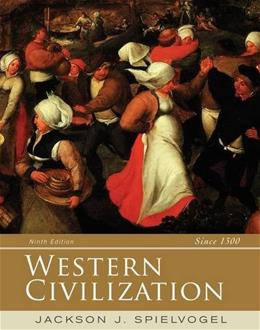 Western Civilization, by Spielvogel, 9th Edition, Alternate Volume: Since 1300 9781285436685