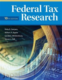 Federal Tax Research 10 9781285439396