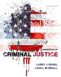 Essentials of Criminal Justice 9 9781285441528