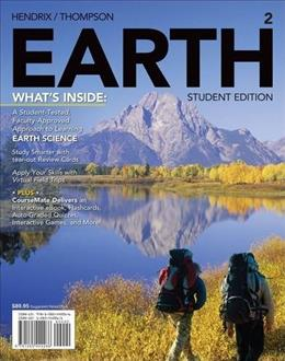 EARTH2 (with CourseMate, 1 term (6 months) Printed Access Card) (New, Engaging Titles from 4LTR Press) 2 PKG 9781285442266