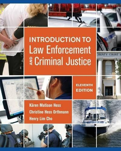 Introduction to Law Enforcement and Criminal Justice 11 9781285444321