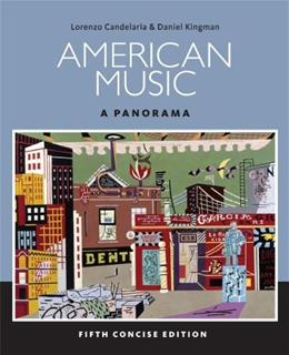 American Music: A Panorama, 5th Concise Edition 5 PKG 9781285446219