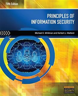 Principles of Information Security 5 9781285448367