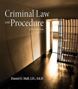 Criminal Law and Procedure 7 9781285448817
